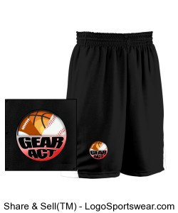 Adult Turnaround Reversible Basketball Short Design Zoom